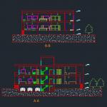 طرح 2 معماری مسکونی