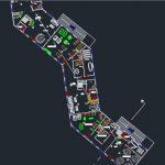 پلان مجتمع مسکونی