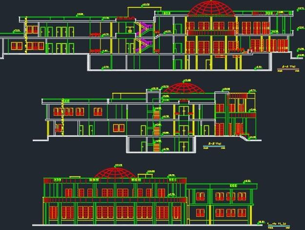 طراحی پلان کتابخانه