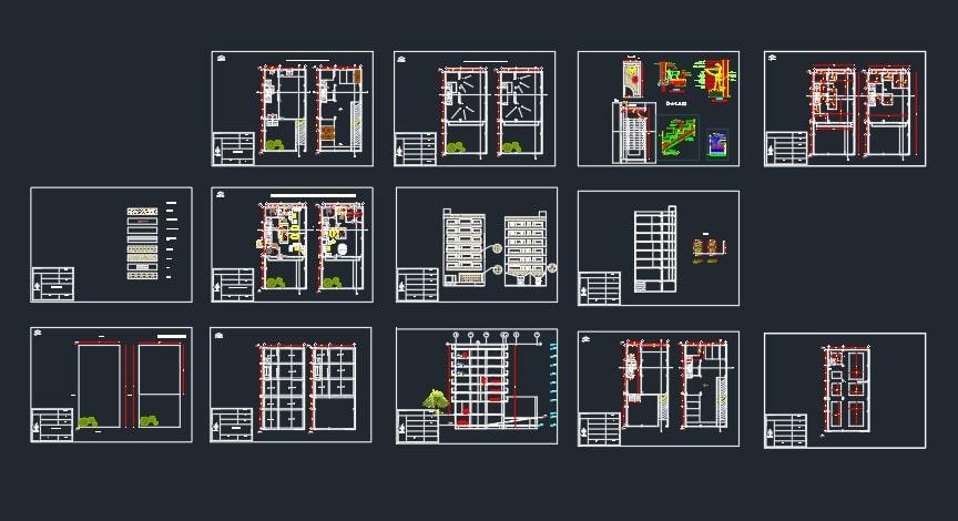 پروژه مسکونی طراحی فنی